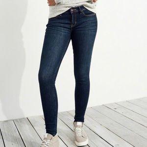 Hollister Super Skinny Dark Wash Jeans Size 1